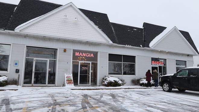 Mangia Mangia is located on South Union Street in Spencerport.