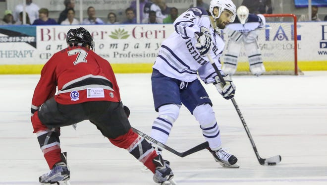 The Ice Flyers captain Corey Banfield is hoping to lead a turnaround with two-thirds of season still remaining. The Ice Flyers host first-place Macon on Tuesday night.