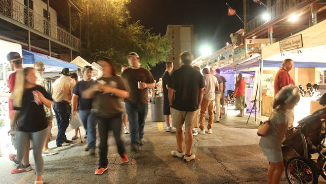 Downtown Pensacola lights up for another Gallery Night this Friday.