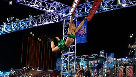 Jessie Graff, in her Green Lantern two-piece, made