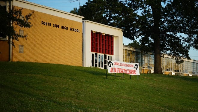 A file photo of South Side High School