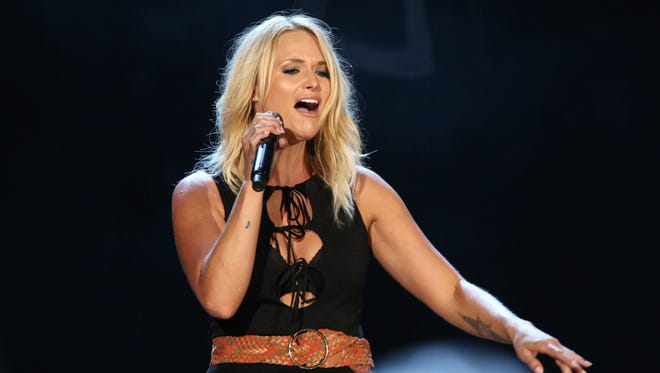 """Miranda Lambert performs at The Wharf Amphitheater Thursday night during her """"Keeper of the Flame"""" 2016 tour."""
