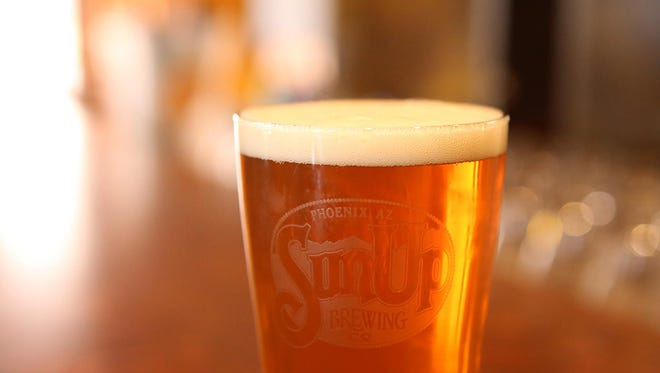 SunUp Brewing Co. is featuring this Oktoberfest beer, which is a German lager.
