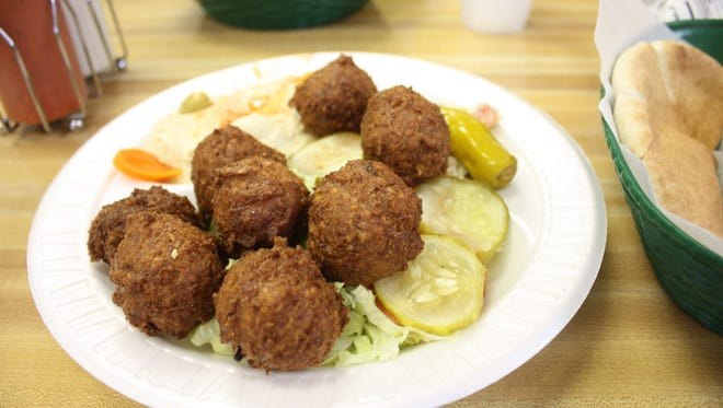 The Pita House in Greenville offers some of the best falafel in the area.