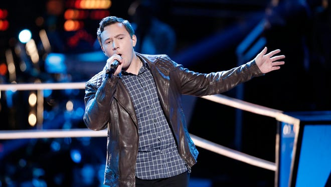 """Gabe Broussard was one of two Lafayette singers on this season of """"The Voice."""""""