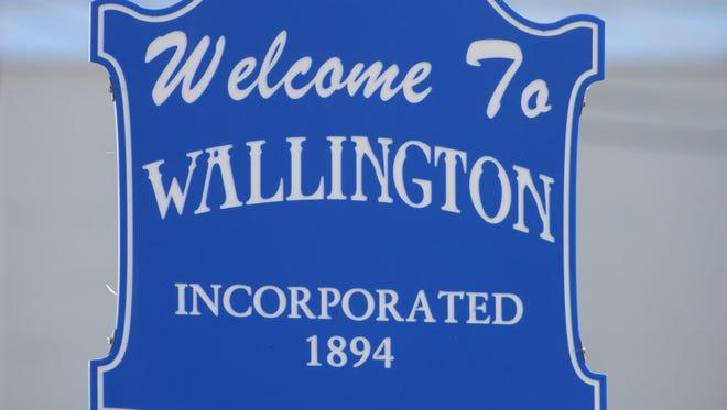 Wallington Welcome sign