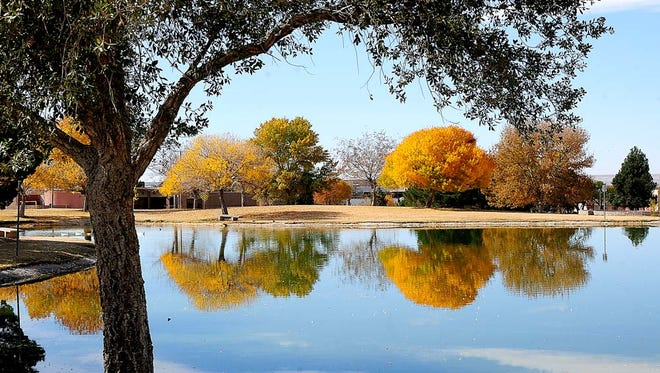 The vibrant fall colors were on display at New Mexico State University in late November 2012. This year's Thanksgiving weekend should be sunny, giving residents ample opportunity to enjoy the outdoors.