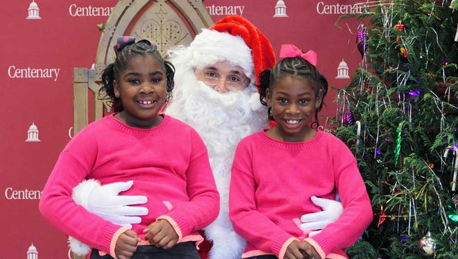 Centenary College will host Breakfast with Santa Dec. 3.