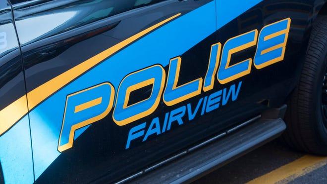 A Fairview police car.
