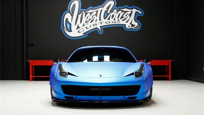 Justin Bieber is expected to be on stage at Barrett-Jackson Scottsdale on Jan. 21 to sell is 2011 Ferrari.
