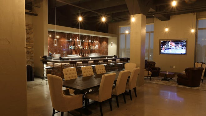 Suite 414 at Schlitz Park, on the fourth floor of the Stock-House, can seat 80 for private events and accommodate about 100 mingling.
