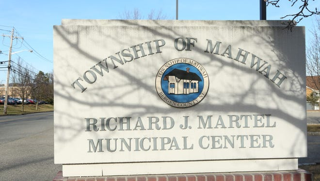 Sign for the Mahwah Municipal Center  located at 475 Corporate Dr.