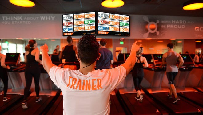 Orangetheory Fitness offers group classes led by a trainer. The fitness business plans to put a location in the Fox River Mall.