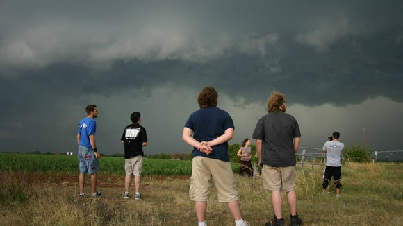 UNC Asheville will hold a free public course on advanced storm spotting April 18.