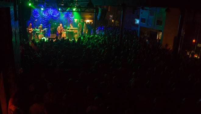 JJ Grey & Mofro performs at Vinyl Music Hall in Pensacola, Fla., on Thursday, April, 27, 2017.
