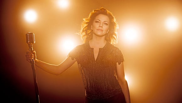 Country singer Martina McBride is performing at the
