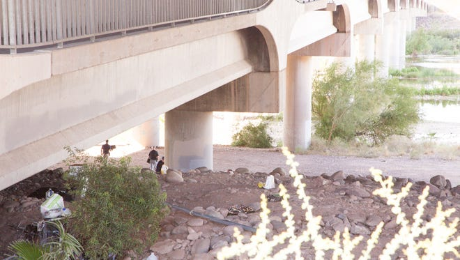 Tempe Police Department  detectives were investigating a body recovering where Tempe Town Lake merges with the Salt River under the Loop 202 underpass at McClinktock road Wednesday morning.