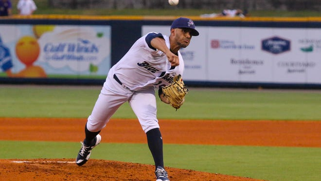 Blue Wahoos pitcher Jose Lopez was strong again Wednesday night in Birmingham with six scoreless innings and four strikeouts to help Pensacola to a 7-0 win against Barons.