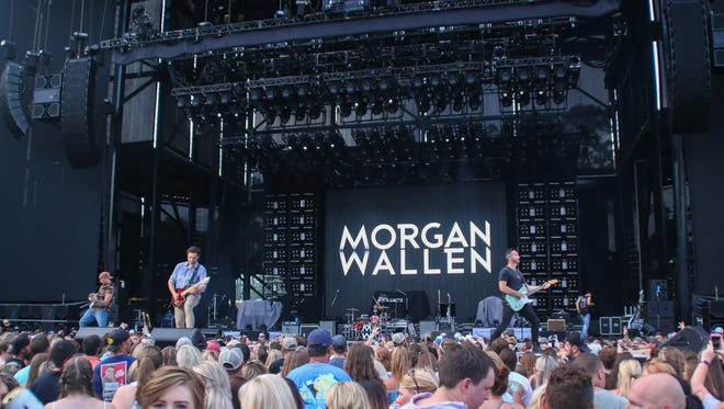 Check out Morgan Wallen at the Friday Night Block Party from 5 to 10 p.m. Friday in Collegetown.