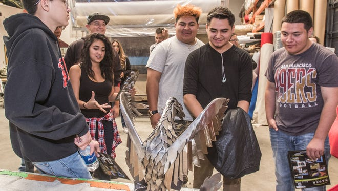 Students attend the annual MEP tours on Tuesday, October 18, 2016 in Albuquerque, NM.