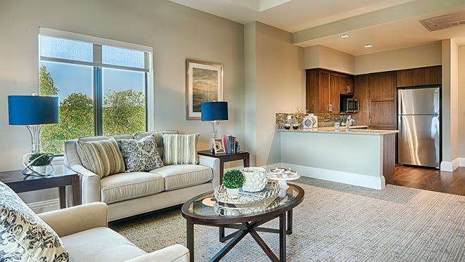 The assisted living residences in Oakstone are private suites.