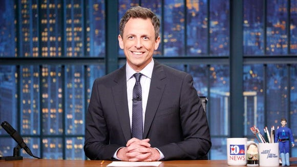 'Late Night' host Seth Meyers