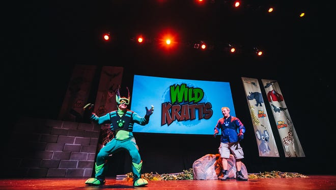Wild Kratts Live! brings the popular PBS Kids' show to life.
