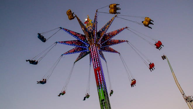 Scenes from the fifth day of the 83rd annual Pensacola Interstate Fair on Monday, October 23, 2017.