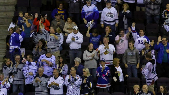 Pensacola Ice Flyers fans will need to adjust plans next weekend, after team was forced to give up Dec. 8 home game at Pensacola Bay Center with President Trump visiting. The Ice Flyers will now play Knoxville Ice Bears on Dec. 9 and 11 at home.