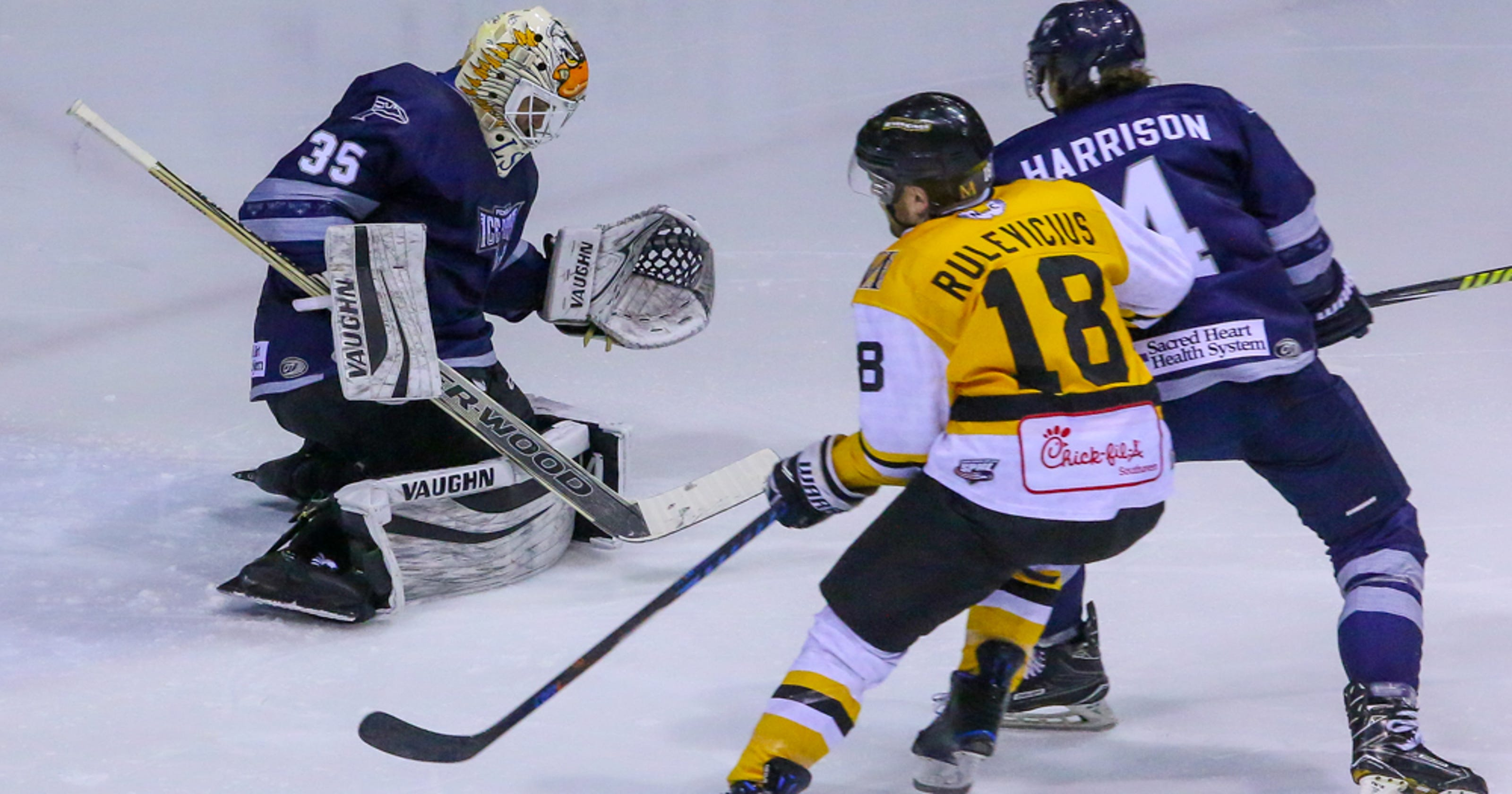 Ice Flyers set to ring out the old in same way they started a new season 22aeb8849