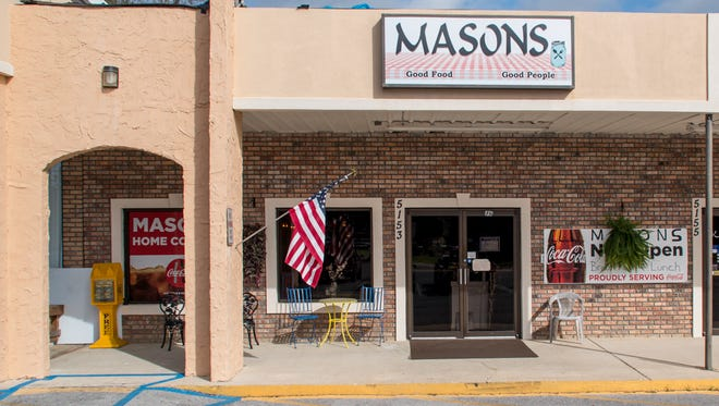Married since 2005, Wayne and Heather Mason recently opened their Masons Good Food Good People breakfast and lunch-only restaurant at 5153 Dogwood Drive in Milton. They've strived to create a small diner-like restaurant where people feel like they're going to a friend or family member's home for a meal versus a large chain restaurant.  Shown on Wed., Feb. 21, 2018, the restaurant seats about 35 people and is open from 6am-2pm on weekdays, 7am-2pm on Saturdays, and is closed on Sundays.