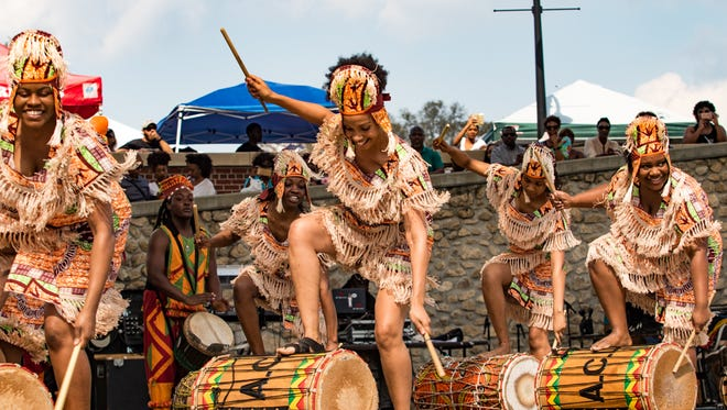 Catch the big African beat during the Harambee Festival on Saturday in Cascades Park.
