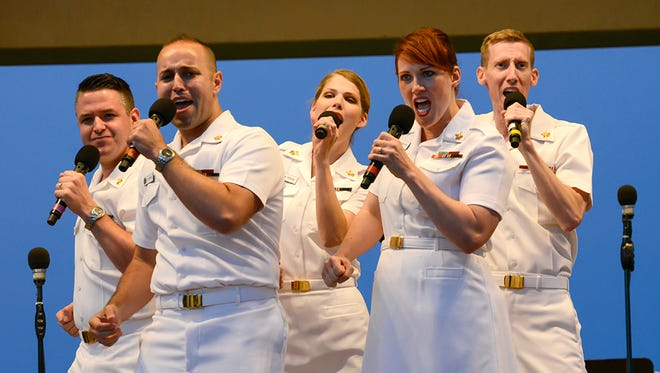 The US Navy Concert Band, featuring the US Navy Sea Chanters, are set to perform at the Rehoboth Beach Bandstand on July 4.