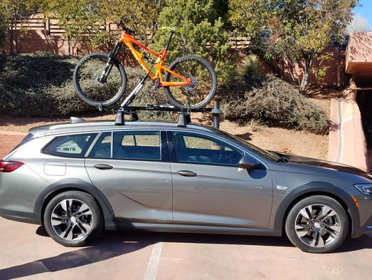 The Buick Regal TourX offers SUV-like rear cargo room