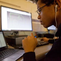 The number of college students enrolled in online classes is leveling off, according to the National Center for Education Statistics.