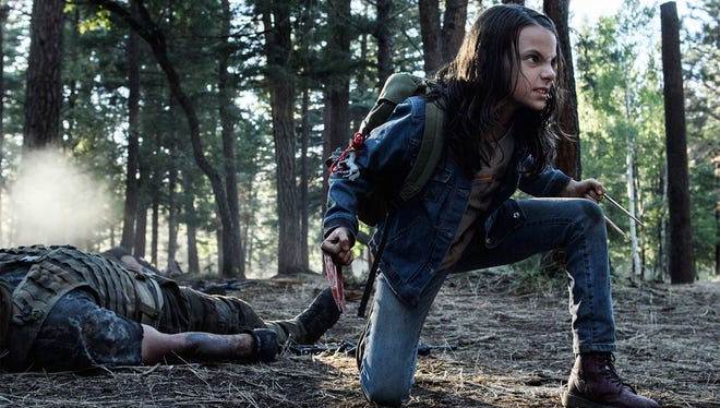 "Both scene stealer and foe slicer, Dafne Keen is a chip off the old adamantium block in ""Logan."""