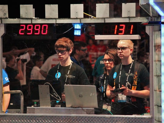 Aumsville-based Hotwire Robotics 2990 made its second consecutive trip to St. Louis to compete in the 2016 FIRST Robotics Championships during the final week of April.