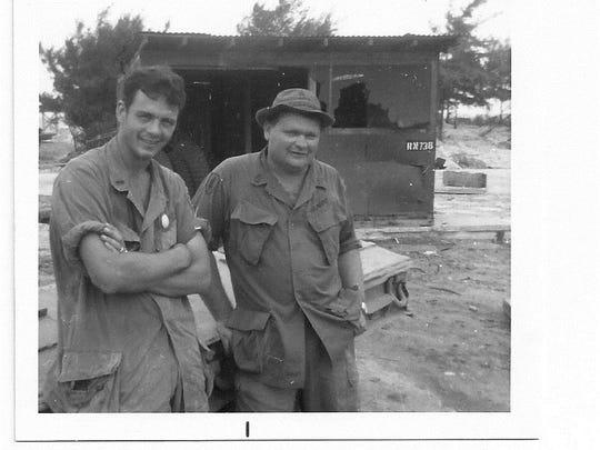Nolan while he was in Vietnam, 1970-71
