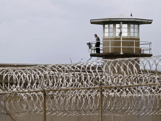 Statesman Journal file A correctional officer mans