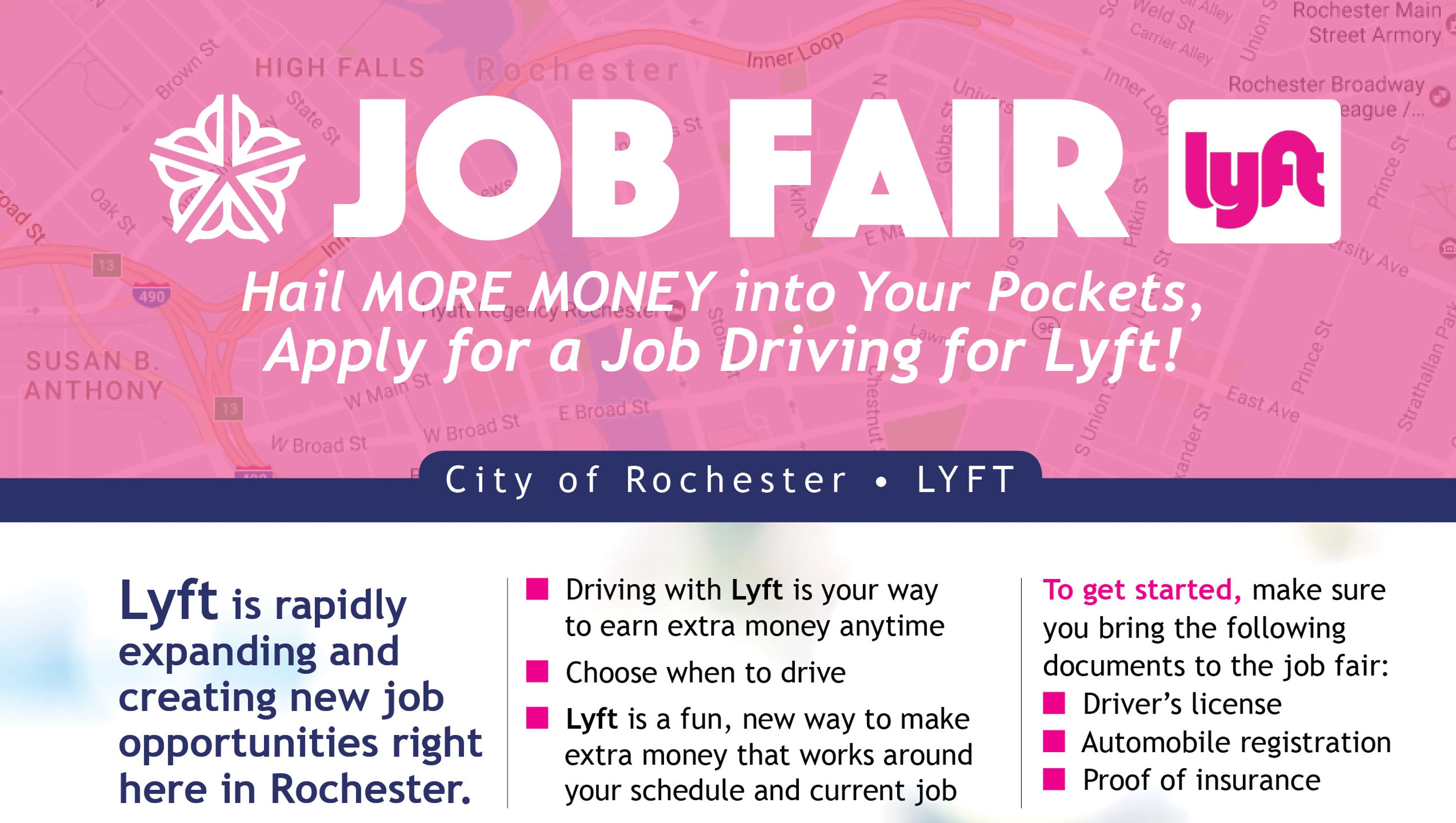 City hails Lyft in latest job fair — and why that might be a problem