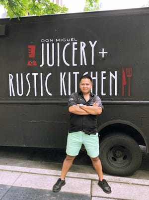 Miguel Martinez, owner of Don Miguel Juicery and Rustic Kitchen