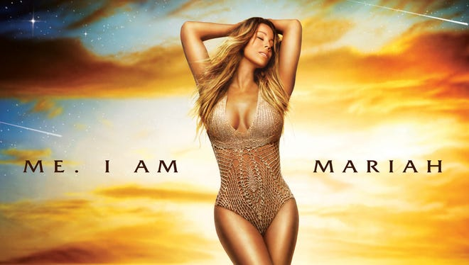 The cover of Mariah Carey's 14th studio album, 'Me. I Am Mariah ... The Elusive Chanteuse,' out Tuesday.