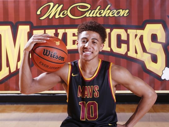 McCutcheon's Robert Phinisee is the 2017 J&C Big School