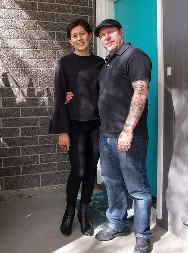 Emily and Roger Miret were searching for a house that