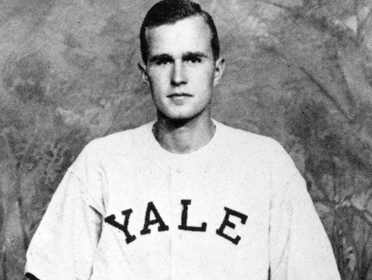 George H. W. Bush Yale baseball