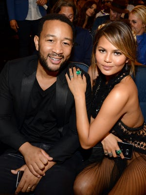 John and Chrissy looked cozy at the MTV Video Music Awards in August 2015.