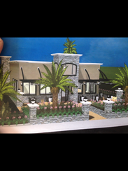 A rendering of the Greek restaurant designed by Southern