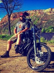 Austin Sherwood, 25, died in a motorcycle crash last