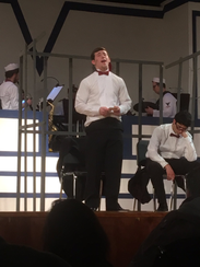 """Nick Yanik performs in """"Anything Goes"""" at Edison High"""