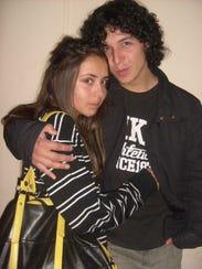 Valentina Wistuba and Rodrigo Vásquez pose for their